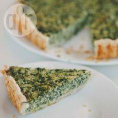 Spinazietaart @ allrecipes.nl Dutch Recipes, Italian Recipes, Empanadas, Quiche, Home Food, Allrecipes, Avocado Toast, Tapas, Muffins