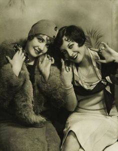 Anita Page and Joan Crawford - 1929