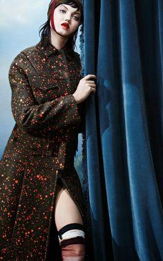 Lindsey Wixson for Vogue Italia November 2014