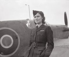 Second Officer Jadwiga Piłsudska, a Polish female pilot serving in the ATA. Maidenhead, 19 March 1943. She is a daughter of Marshal Józef Piłsudski, the prewar leader of Poland. Before war she was a renowned glider pilot. In September 1939, together with her sister and mother, she escaped from Soviet-occupied Wilno to Sweden and then to Britain. © IWM (CH 8935)