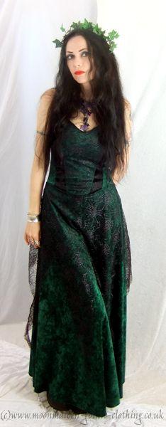 Moonmaiden Gothic Clothing - Spiderfaery Dress