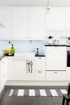 My Home - early Sunday morning:) Cabinet Makers, White Walls, Old And New, Kitchen Cabinets, Colours, Sunday Morning, Inspiration, Home Decor, Off White Walls