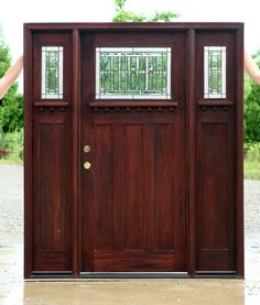 Craftsman Doors - Craftsman Style Doors with Sidelights