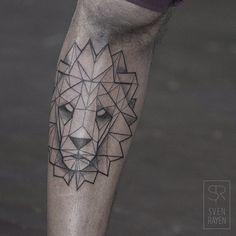 Strong geometric lion
