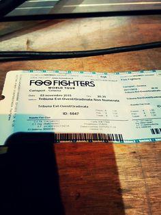 #live i #foofighters a Cesena grazie a #rockin1000