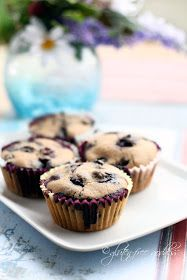 Gluten-Free Blueberry Muffins with Almond Flour