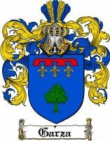 Garza Coat of Arms / Garza Family Crest