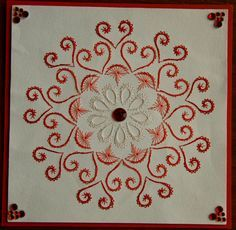 embroidery on paper for cardmakers - Google Search