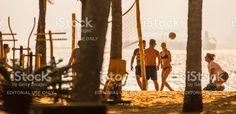 Praia do Perequê em dia de sol de Ilhabela, Brasil, foto royalty-free