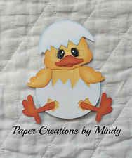 Craftecafe Mindy Easter Chick Spring Premade Paper Piecing for scrapbook page Easter Eggs, Easter Food, Scroll Saw Patterns, Paper Piecing, Scrapbook Cards, Easter Chick, Clip Art, Drawings, Coloring