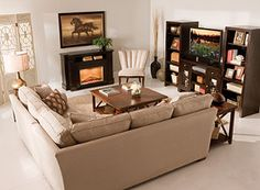 1000 images about fantastic furniture on pinterest tv for L shaped living room with fireplace
