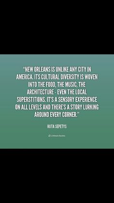 New Orleans quote
