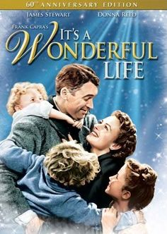 It's a Wonderful Life Jimmy Stewart, Donna Reed, Lionel Barrymore. A favorite Holiday movie that shows how one man can affect some many other people's lives. Wonderful Life Movie, Love Movie, Movie Tv, It's Wonderful, Movie List, Beautiful Life, Movie Shelf, Gorgeous Movie, Wonderful Picture