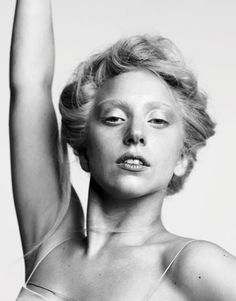 Lady GaGa, without all the make-up. She's got sort of a stunning vaguely Swedish thing going on. Well done, GaGa. Sin City 2, Guy Bourdin, Terry Richardson, Lady Gaga Without Makeup, Moda Lady Gaga, Lady Gaga Photoshoot, Divas, Lady Gaga Fashion, Women's Fashion