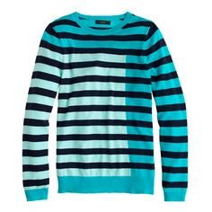 Collection featherweight cashmere Tippi sweater in colorblock stripe - j.crew cashmere - Women's sweaters - J.Crew