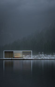 House by the Lake - designer unknown