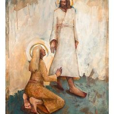 A Believing Woman, Painting by Caitlin Connolly | Christ | Church of Jesus Christ | Image of Christ | Latter Day Saint | LDS | Come Follow Me | Jesus Christ | Savior | Book of Mormon | Share Goodness | Lds.org | LDS Artwork | Well Within Her #churchofjesuschrist #jesuschrist #christ #savior #sharegoodness #latterdaysaint #lds #comefollowme #wellwithinher Spiritual Art, Spiritual Artwork, Art Images, Jesus Art, Painting, Church Art, Lds Art, Art, Sacred Art