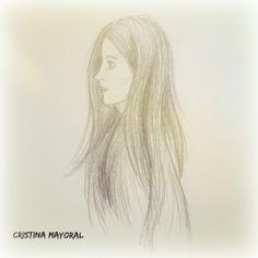 Moneando con el lápiz  #CristinaMayoral #ilustración #boceto  www.cristinamayoral.wordpress.com