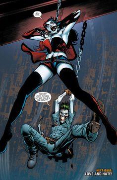 Suicide Squad (New 52 DC Comics) Harley Quinn, Joker