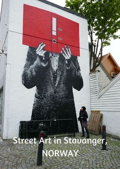 So much incredible street art in #Stavanger in #Norway.