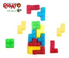 Mitico #gioco del #tetris di #caramelle #gommose alla #frutta ...