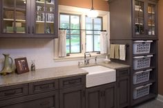 traditional laundry room by Warren Home Restorations