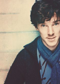 Benedict Cumberbatch in costume as Sherlock. Its hard to believe that face played Khan in the new Star Trek.