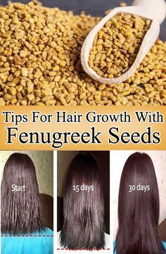 Hey Guys, Suffering from hair loss? Tired of waiting for your hair to grow? Have you tried using Fenugreek yet? I have been using fenugreek for my hair Healthy Hair Remedies, Home Health Remedies, Skin Care Remedies, Hair Tips Home, Long Hair Tips, Fenugreek For Hair, Hair Color Ideas For Brunettes Short, Hair Cure, Natural Health Tips