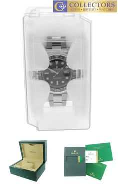 Brand New 2017 Rolex GMT-Master II Stainless Black Ceramic Watch Collectors Brand Rolex (Guaranteed Authentic) Model GMT-Master II Reference Number 116710LN Ser