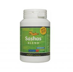 Sashas Blend 100 g ~ Sashas Blend formula is a unique and potent combination of marine concentrates with high natural anti inflammatory and joint protective properties. Scientifically proven that the ingredients to reduce pain and inflammation, protects joints from breakdown associated with arthritis and other inflammatory cartilage conditions. C$44.95 each