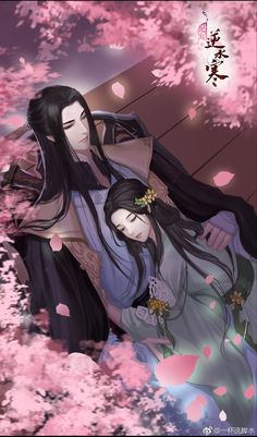 Do you love to read romantic stories? Try these light and funny ones on Flying Lines. Anime Love Couple, Cute Anime Couples, Couple Art, Chinese Drawings, Chinese Art, Anime Fantasy, Fantasy Art, Manga Art, Manga Anime