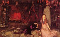 'The Play Scene in Hamlet' (1897) Yale University Art Gallery.