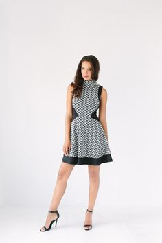 Case of the Greys Mock Neck Dress #baileyblue