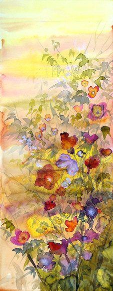"""William Allister (1919 - 2008) [1] """"Flowerflies"""""""