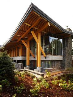 Construction Detail - Whistler Public Library - Hughes Condon Marler Architects