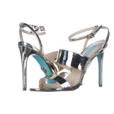 6d7d5f93032 Blue by Betsey Johnson Jenna Mule Sandals