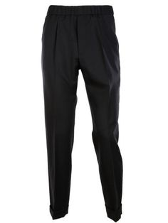 GUCCI Gucci Mohair Wool Loose Fit Trousers. #gucci #cloth #trousers