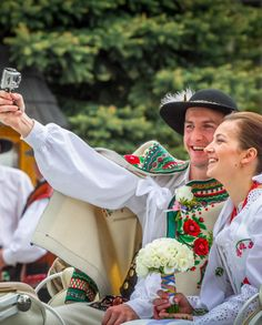 Polish Highland Wedding Selfie, Tatra Moutains, Poland