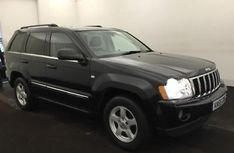 eBay: Jeep Grand Cherokee 3.0CRD V6 auto Limited 2005/55 in Black in lovely condition #jeep #jeeplife
