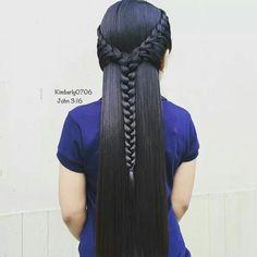 Love you tranças ❣  #cabelos #lindos #Penteados #perdeitos