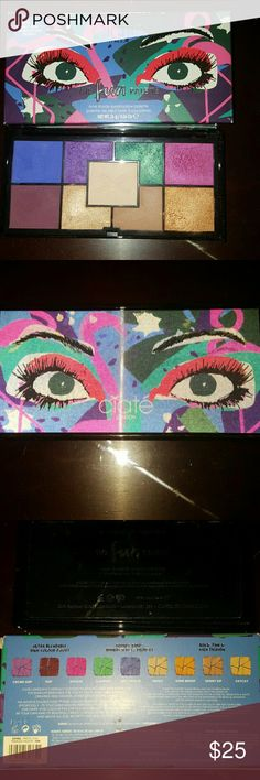 """Ciaté """"The Fun Palette"""" Opened for swatch and review purposes only! Sanitized! 100% Authentic! NO TRADES PLEASE! Ciat?  Makeup Eyeshadow"""
