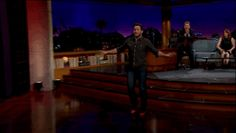 So, he was challenged to run in a pair of bright red heels, as if he was running from a T-Rex. It was so adorable. | Stop Everything And Watch Chris Pratt Attempt To Run In High Heels