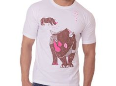 OneforBlue pays homage to the mighty Indian Rhino with this design. The Tee looks great and yet enables one to wear their cause on their sleeve. Eazelly : Hand made, Heart made and Thoughtfully sourced: ALL FOR BLUE