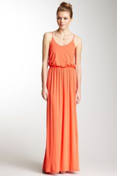 Spaghetti Strap Maxi Dress 23.00