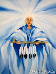 White Buffalo Woman by Suzie Addicks