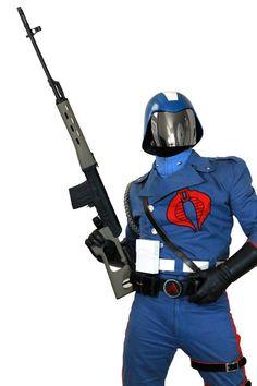 Cobra Commander, cosplayed by facebook.com/IAmCobraCommander