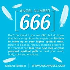 Seeing this number almost every day and yes I can admit unpleasant feeling after i see. But now after reading, all make sense! Back on my spiritual path leaving all nasty thoughts and people, too behind. They don't listen their hearts just heads down there. So finished in the name of God. AMEN