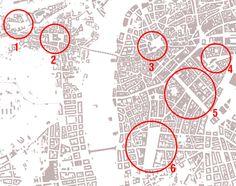 Urban Networks: Plazas medievales de Praga, consideraciones sobre los planos verticales del espacio.