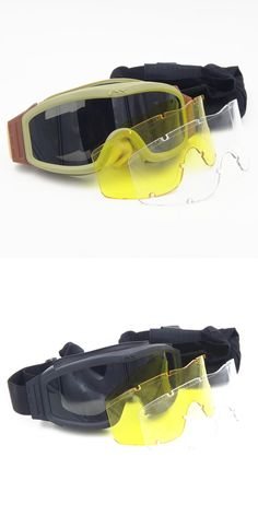 [Visit to Buy] 2017 Special outdoor hiking mountain High quality ESS Crossbow Sports goggles for fan eyewear military ess Activity glasses #Advertisement