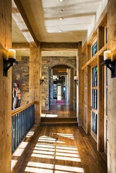 Light Country/Rustic Foyer by Lynette Zambon & Carol Merica on HomePortfolio
